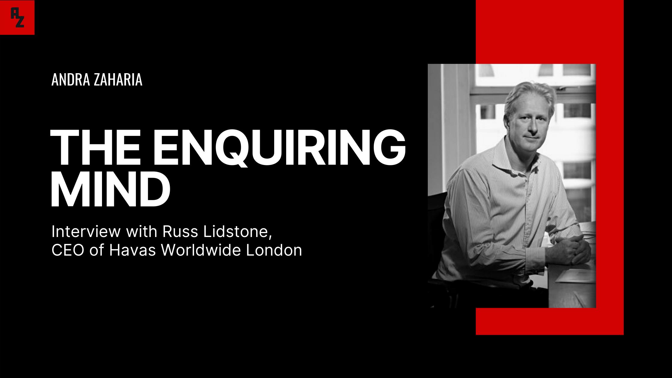 Russ Lidstone interview