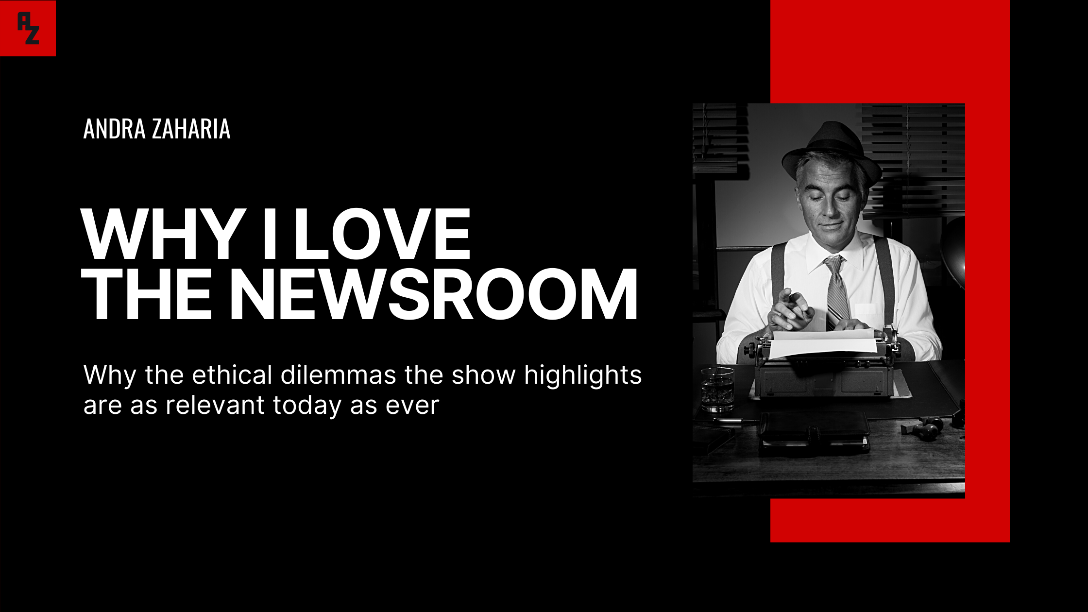why i love the newsroom tv show