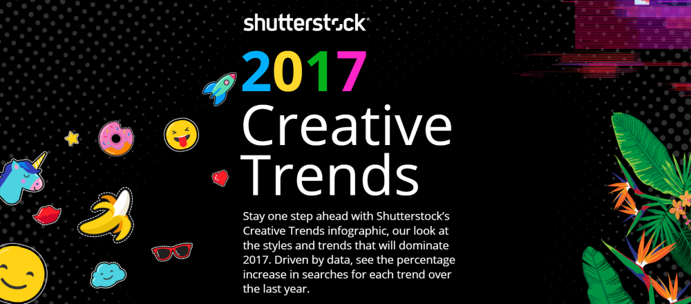 shutterstock creative trends 2017