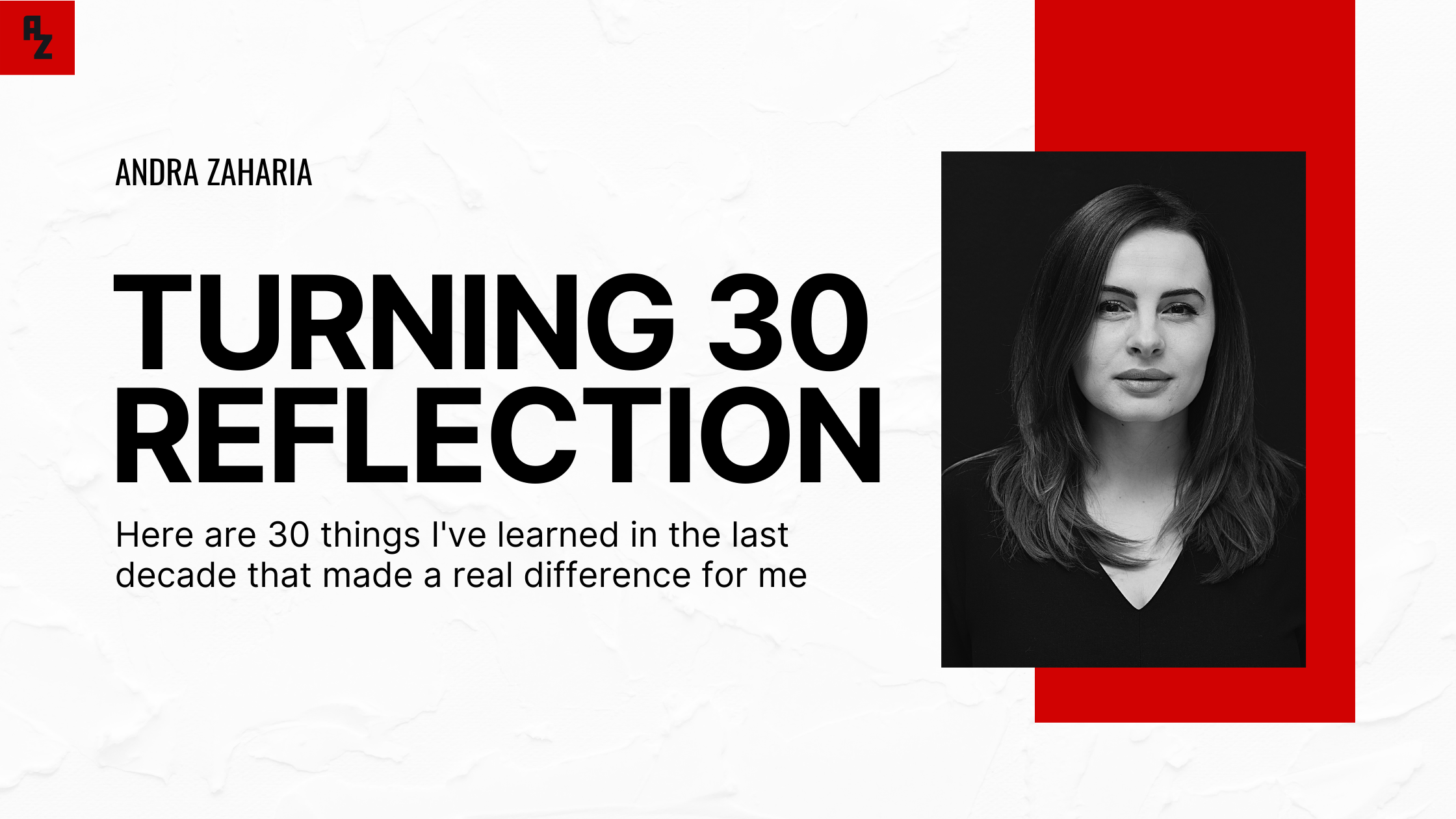 turning 30 life lessons