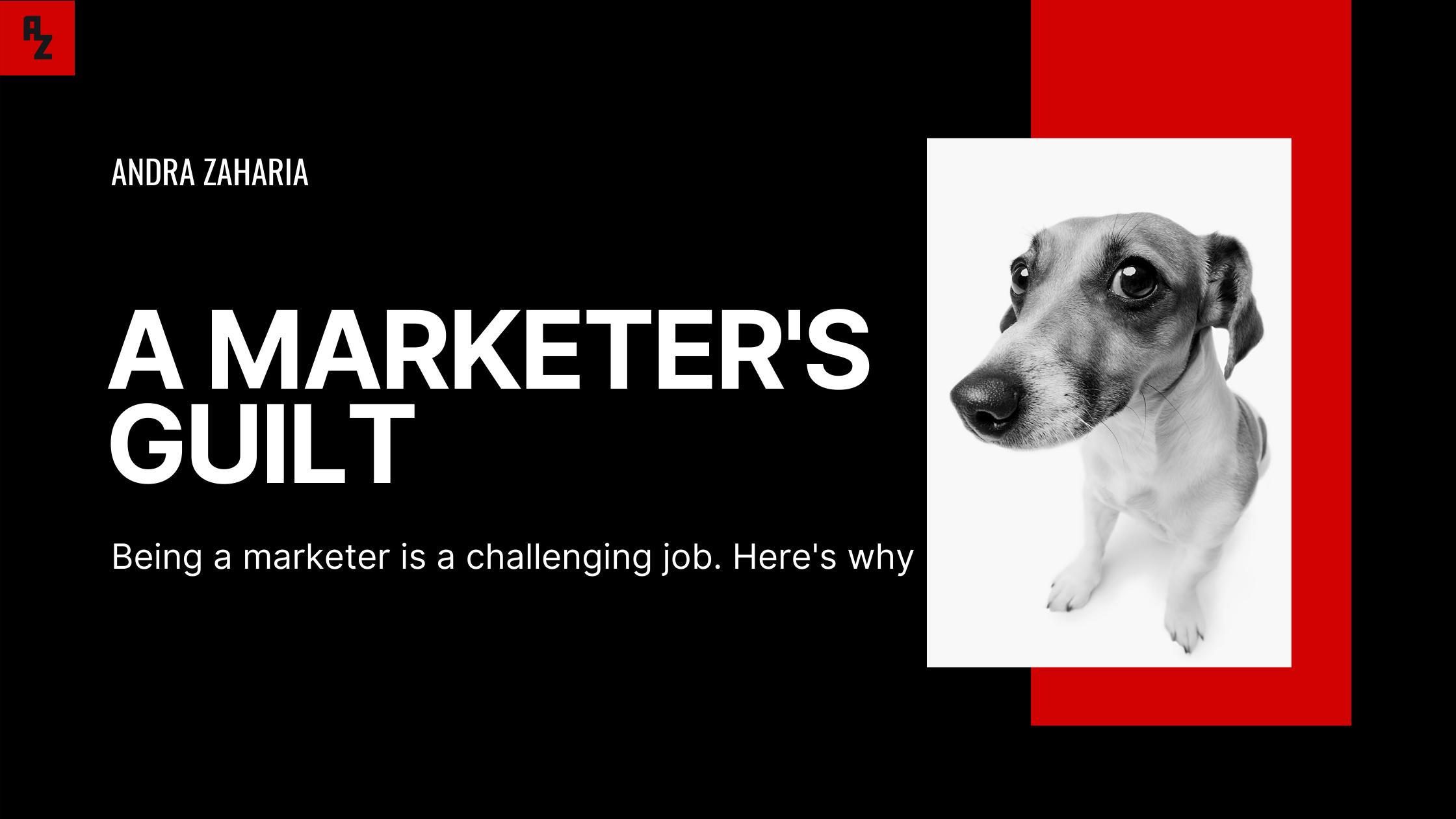 marketers' guilt