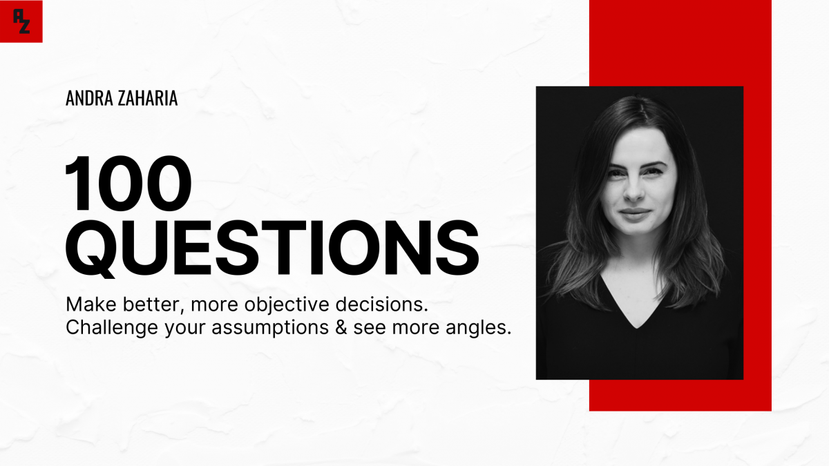100 questions better decisions