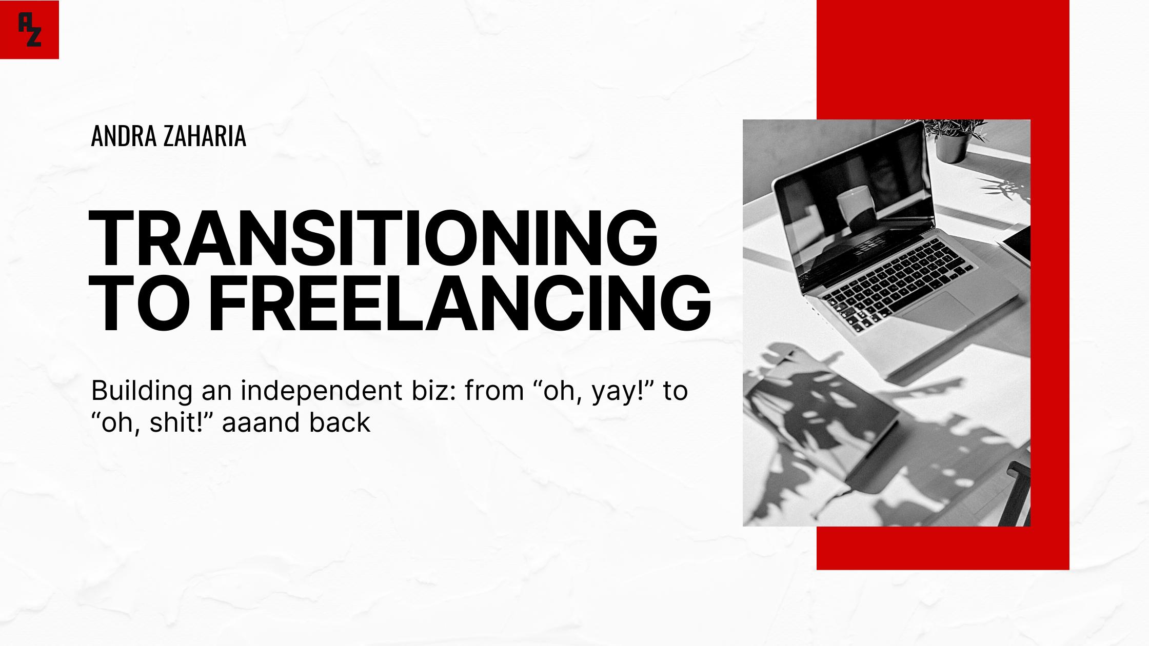 transition to freelancing