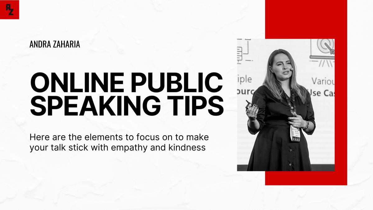 ONLINE PUBLIC SPEAKING TIPS