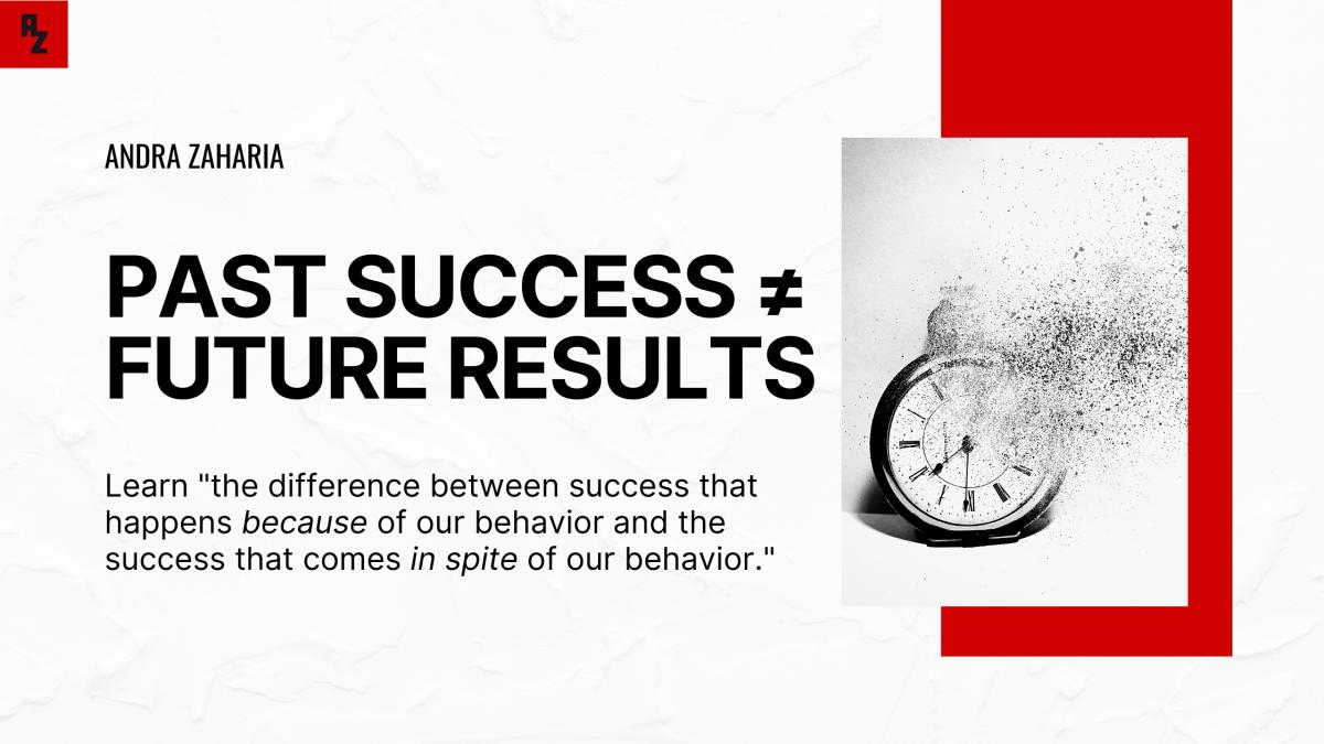 past success future results